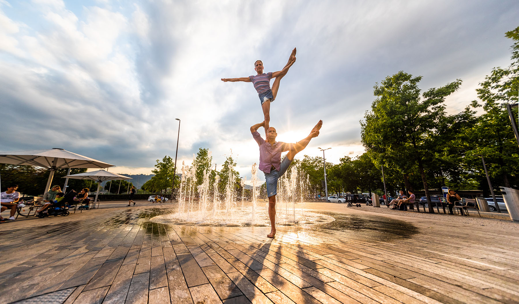 akrobatik.ch KLG, Partner-Akrobatik, AcroYoga, Dietlikon Zürich