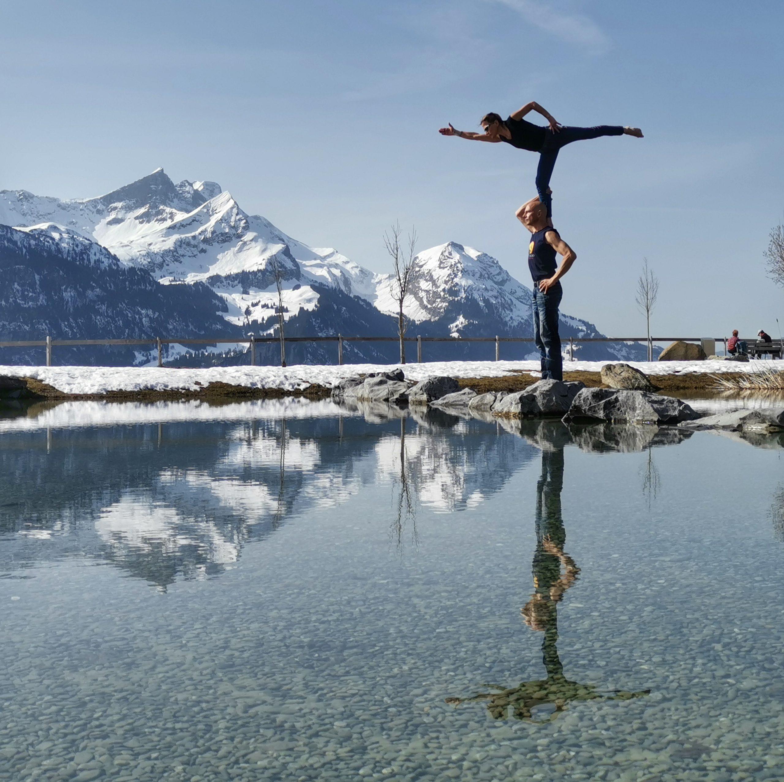 AcroYoga, akrobatik.ch KLG,  Dietlikon Zürich